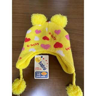 ベベ(BeBe)のe baby  ポンポン帽子(帽子)