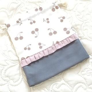 ハンドメイド コップ袋(バッグ/レッスンバッグ)