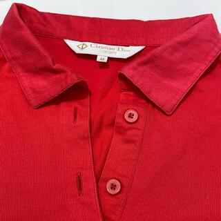 クリスチャンディオール(Christian Dior)のクリスチャンディオール 長袖ポロシャツ(ポロシャツ)