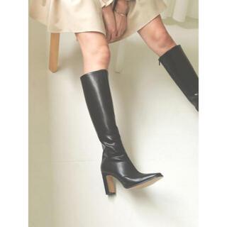 ザラ(ZARA)のACYM    Bettylongブーツ 【BLACK】(ブーツ)