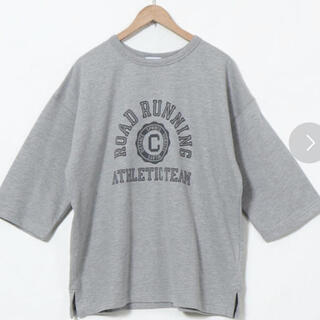 コーエン(coen)のカレッジプリント7袖T(Tシャツ(長袖/七分))