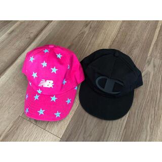 ニューバランス(New Balance)の*kidsキャップ 帽子 NABE様専用(帽子)
