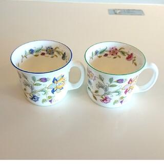 ミントン(MINTON)のミントン マグカップ ブルー グリーン 2個セット(グラス/カップ)