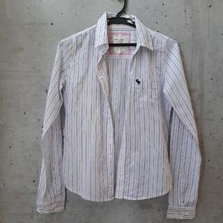 アバクロンビーアンドフィッチ(Abercrombie&Fitch)のabercrombie&Fitch ストライプシャツ(シャツ/ブラウス(長袖/七分))