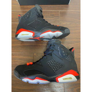 ナイキ(NIKE)のair jordan 6 retro infrared 27cm (スニーカー)