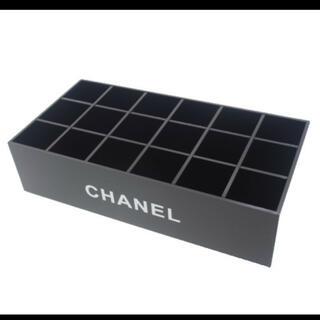 シャネル(CHANEL)のCHANEL シャネル リップ立て 18マス  ブラック (メイクボックス)