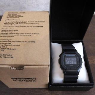 ネイバーフッド(NEIGHBORHOOD)のネイバーフッド×カシオ Gショック DW5600 腕時計 ジーショック 新品(腕時計(デジタル))