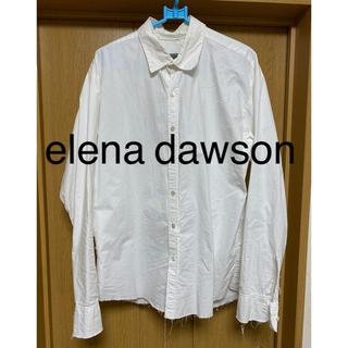 ポールハーデン(Paul Harnden)のmotomoto様専用 elena dawson エレナドーソン 断ち切りシャツ(シャツ)