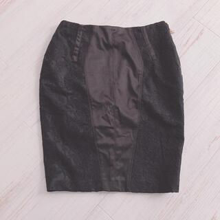 ヌメロヴェントゥーノ(N°21)のELISABETTA FRANCHIタイトタイトスカート(ひざ丈スカート)