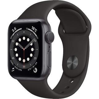 アップルウォッチ(Apple Watch)の※期間限定価【40mm / GPS】Apple Watch Series 6(腕時計(デジタル))