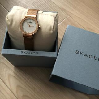 スカーゲン(SKAGEN)のskagenレディースウォッチ(腕時計)