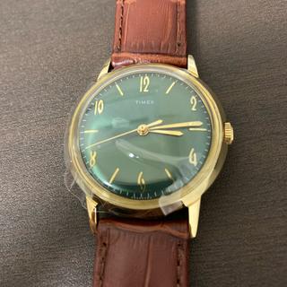 タイメックス(TIMEX)の【日本未販売】Timex marlin Todd Snyder green (腕時計(アナログ))