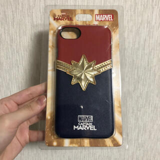 マーベル(MARVEL)のキャプテンマーベル iPhoneケース(iPhoneケース)