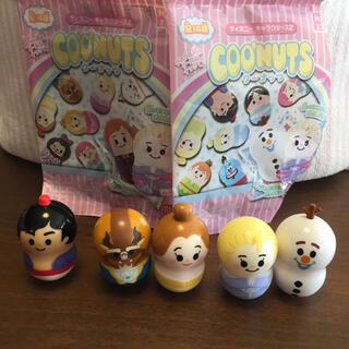 クーナッツ ♡ ディズニーキャラクターズ 2 5体セット(キャラクターグッズ)