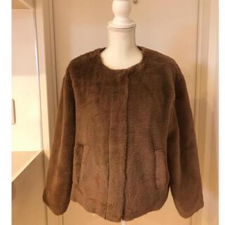 UNITED ARROWS - ふわふわファージャケット  極美品