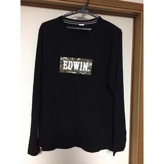 エドウィン(EDWIN)のmamaちゃん様専用  長袖Tシャツ    EDWIN  黒(Tシャツ/カットソー(七分/長袖))