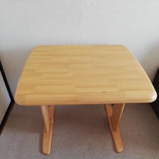 ニトリ(ニトリ)の手渡し可能 西東京 ニトリ ナチュラル テーブル ダイニングテーブル 天然木(ダイニングテーブル)