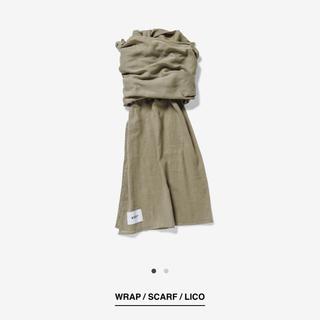 ダブルタップス(W)taps)のwtaps WRAP / SCARF LICO OLIVE DRAB スカーフ(ストール)