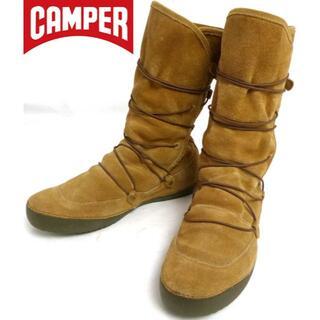 カンペール(CAMPER)のカンペール CAMPER スエードブーツ 38(24cm相当)(レディース)(ブーツ)
