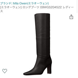 ミラオーウェン(Mila Owen)のミラオーウェン   mila owen(ブーツ)
