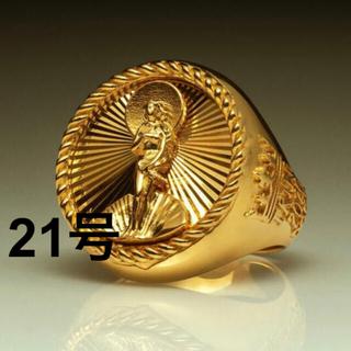 ステューシー(STUSSY)の21号 Stussy 40th Anniversary Ring Gold(リング(指輪))