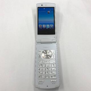 エヌイーシー(NEC)のdocomo N-01E ホワイト(携帯電話本体)