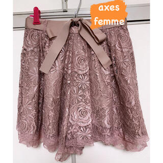 アクシーズファム(axes femme)のaxes femme キュロット 即購入OK(キュロット)