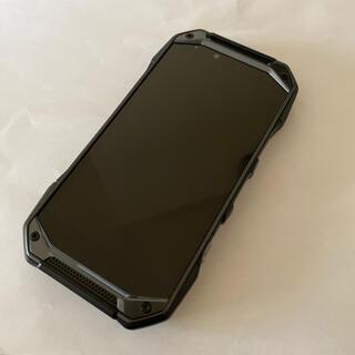 キョウセラ(京セラ)のau TORQUE G04 KYV46 Black SIMロック解除済 美品(スマートフォン本体)