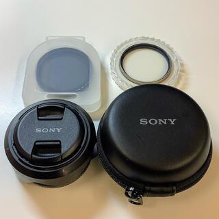 ソニー(SONY)のSONY SEL16F28 + VCL-ECU1 保護・可変NDフィルターセット(レンズ(単焦点))