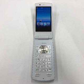エヌイーシー(NEC)のdocomo N-01E ホワイト (携帯電話本体)