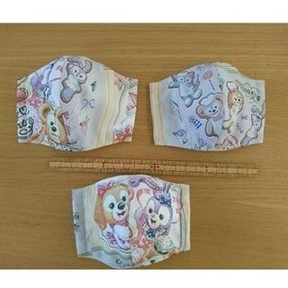 ダッフィー 園児サイズ インナーマスク ハートウォーミングデイズ(外出用品)