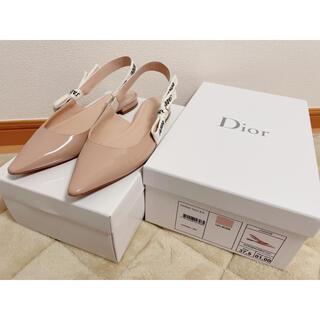 クリスチャンディオール(Christian Dior)のJ'ADIOR スリングバック バレエフラットシューズ(バレエシューズ)