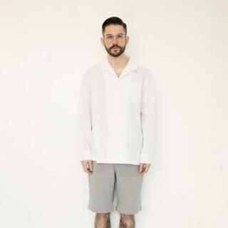 [KEnTe] Basic Open Collar Shirt