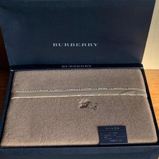 BURBERRY - バーバリー BURBERRY ウール 毛布