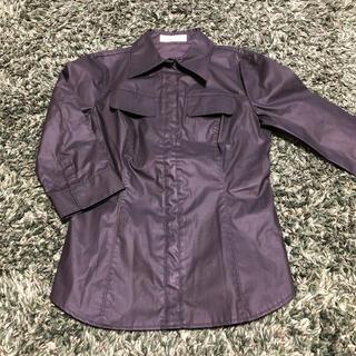 プライベートレーベル(PRIVATE LABEL)のMサイズ PrivateLabel 7分丈シャツ ジャケット(テーラードジャケット)