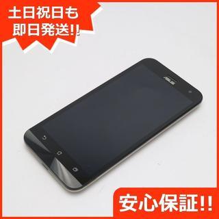 エイスース(ASUS)の美品 SIMフリー ZenFone2 Laser ZE500KL ゴールド (スマートフォン本体)