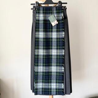 オニール(O'NEILL)の【別注新品】O'NEIL of DUBLIN コンビロングスカート サイズ8(ロングスカート)