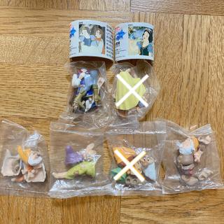 カイヨウドウ(海洋堂)のチョコパーティー ディズニー パート1  白雪姫 小人 セット フィギュア(キャラクターグッズ)