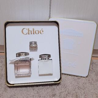 クロエ(Chloe)の《値下げ中❗️》【ほぼ未使用】Chloe 香水 コフレ(香水(女性用))