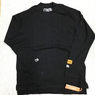 ヒューレットパッカード(HP)のHeron Preston モックネックロンT Lサイズ(Tシャツ/カットソー(七分/長袖))