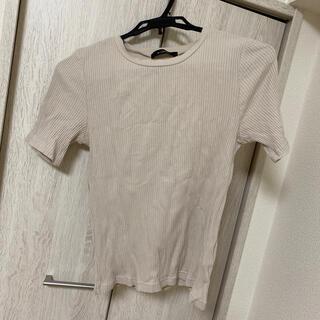 ダブルクローゼット(w closet)のwclosetリブTシャツ(Tシャツ(半袖/袖なし))