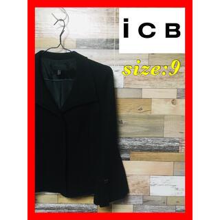 アイシービー(ICB)のICB(アイシービー) ジャケット 9号 ブラック 大特価出品(その他)
