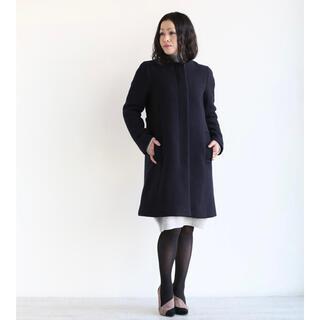 マカフィー(MACPHEE)の美品 マカフィー 厚手ウールコート(ノーカラージャケット)