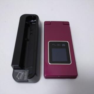 ソフトバンク(Softbank)のSoftBank かんたん携帯9 505SH ワインレッド A0925196(携帯電話本体)