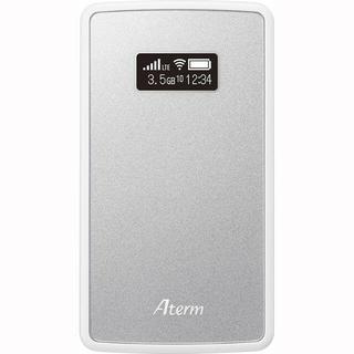 エヌイーシー(NEC)のNEC製 Aterm モバイルルーター シムフリー(その他)