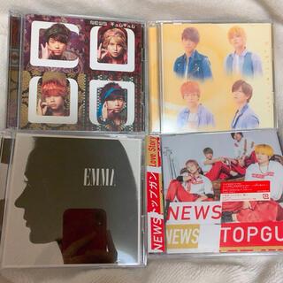 ジャニーズ(Johnny's)のNEWS 初回盤CDセット(アイドルグッズ)