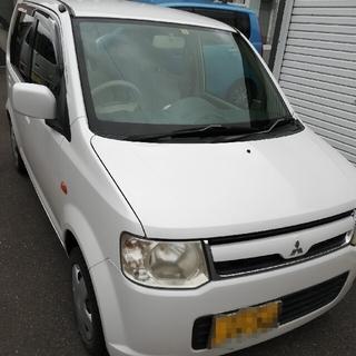 ミツビシ(三菱)のEKワゴン スタッドレス 車検 令和4年2月1日 北海道 道東(車体)