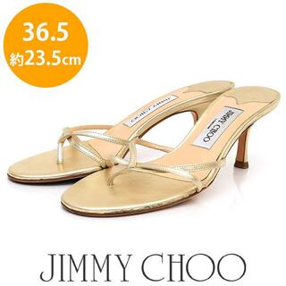 JIMMY CHOO - 美品❤️ジミーチュウ トングサンダル 36.5(約23.5cm)