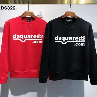 ディースクエアード(DSQUARED2)のみみ  長袖ジャージ DS322  黒いXXL と赤いM(ジャージ)