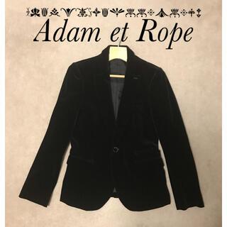 アダムエロぺ(Adam et Rope')の★美品★ アダムエロペ ベロアジャケット(テーラードジャケット)